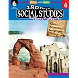 180 Days of Social Studies: Grade 4 - Daily Social Studies Workbook for Classroom and Home, Cool and Fun Civics Practice…
