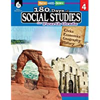 180 Days of Social Studies: Grade 4 - Daily Social Studies Workbook for Classroom...