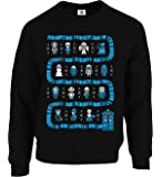 Graphic Impact Inspired Dr and The Who Christmas Jumper Ugly Sweater Festive Xmas Sweater Top