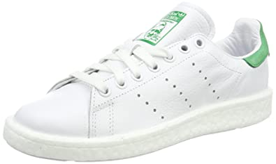 buy popular 90604 7179a adidas Stan Smith Boost, Sneakers Basses Mixte Adulte, Blanc Footwear  WhiteGreen,