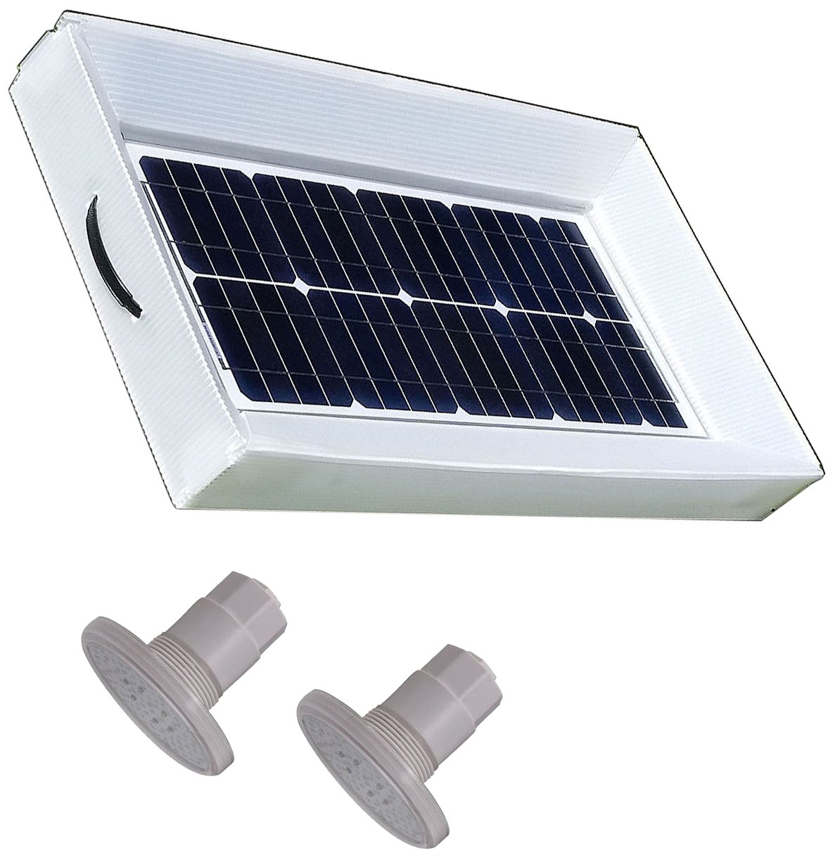 Natural Current NCS20WLTF 20W Solar Powered Pool Spa Pond Light, 3000-Gallon