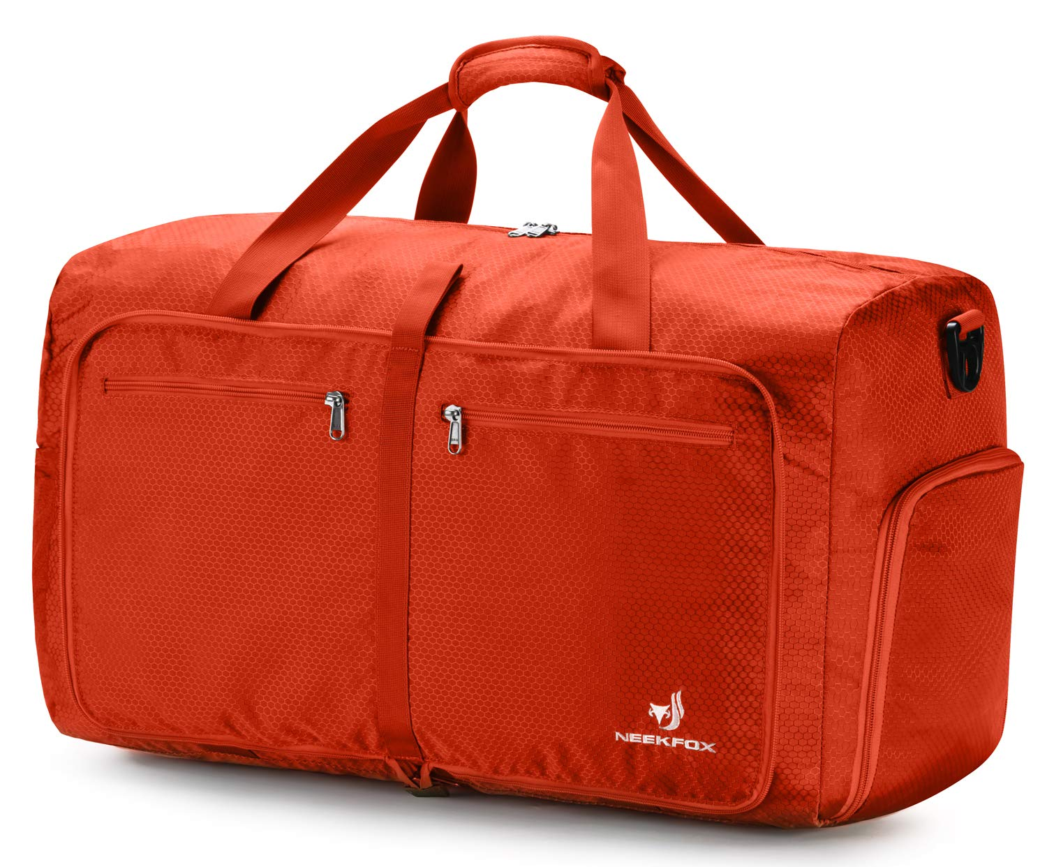 8f0875ff90c5 Details about NEEKFOX Foldable Travel Duffel Bag Large Packable Lightweight  Luggage Orange