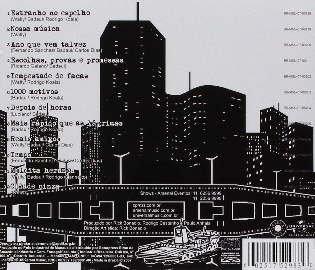 album cidade cinza cpm 22
