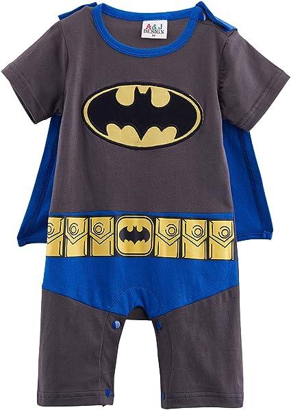 FANCY DRESS ~ BOYS DARK KNIGHT BATMAN INF 6-12 MONTH
