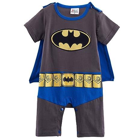 Traje infantil inspirado en Batman. 0-6 meses: Amazon.es ...