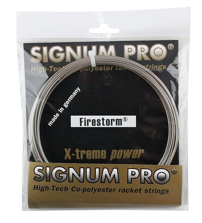 Signum Pro Firestorm Bobina Cordaje de Tenis Oro