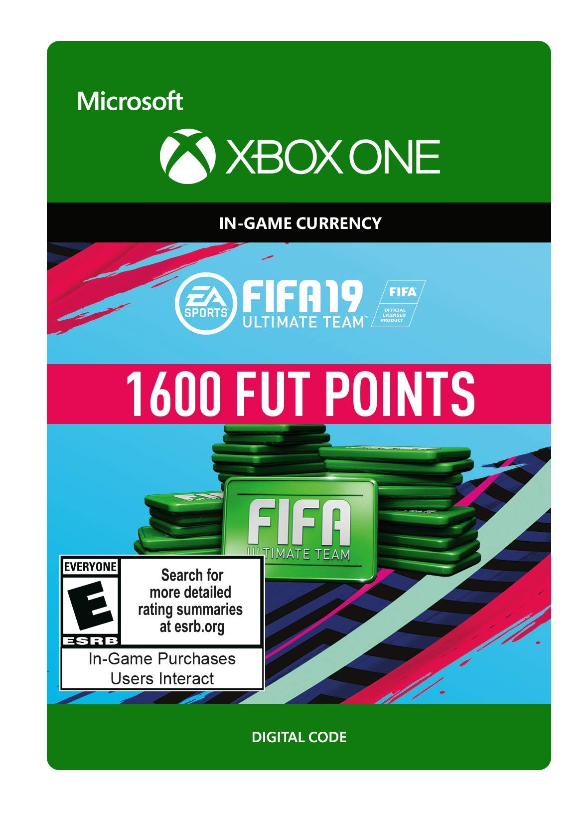 FIFA 19: ULTIMATE TEAM FIFA POINTS 1600 - Xbox One [Digital Code] by Electronic Arts