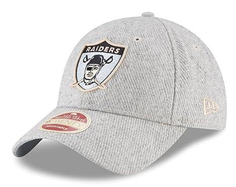1567215f4 Amazon.com : New Era Oakland Raiders Heritage Series Strapback Hat ...