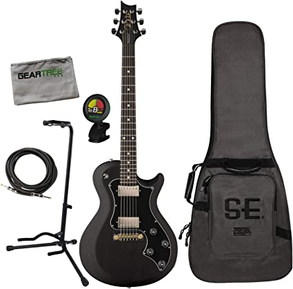 PRS S2 Satin Singlecut Standard - Guitarra eléctrica de carbón ...