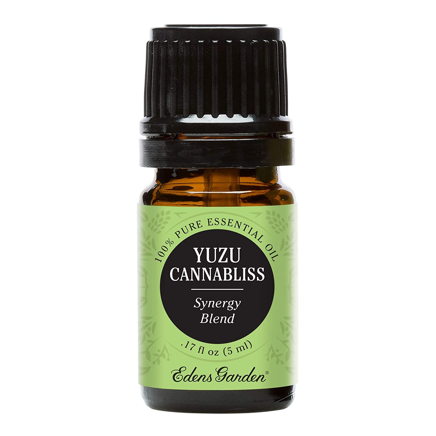 Edens Garden Yuzu Cannabliss Essential Oil Synergy Blend, 100% Pure Therapeutic Grade (Highest Quality Aromatherapy Oils- Inflammation & Pain), 5 ml