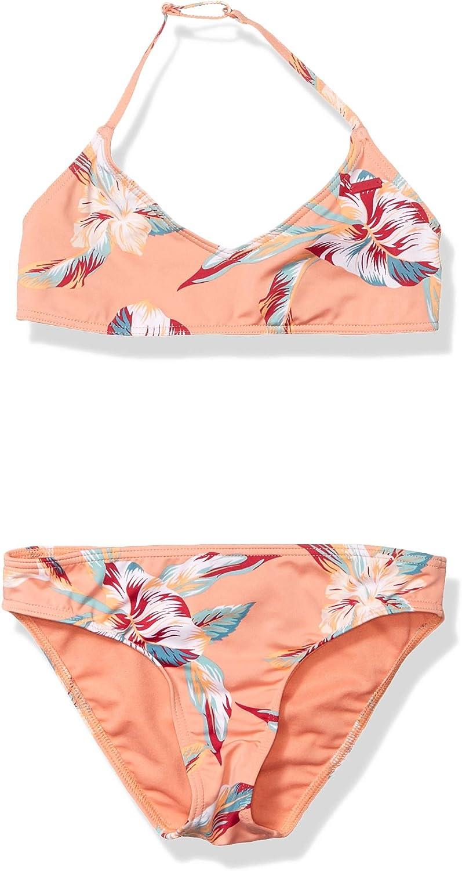 Roxy Girls Made Tri Swimsuit Set