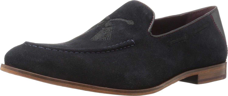 b43e46b73e97 Ted Baker Men s Cannan Dark Blue Suede 10.5 D US  Amazon.co.uk  Shoes   Bags