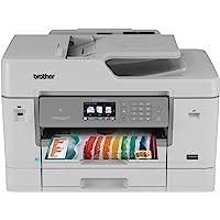 Multifuncional Jato de Tinta Color 22Ppm com Fax, Brother MFCJ6935DW, Branco