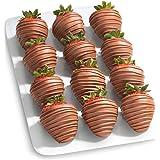 12 Magical Milk Chocolate Covered Strawberries