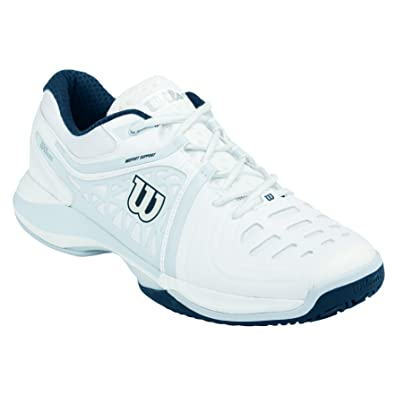 Amazon.com | Wilson N Vision Elite Tennis New Mens Shoes | Tennis ...