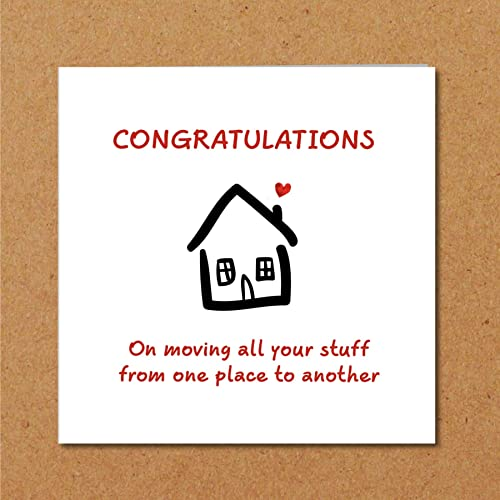 new home housewarming house warming card friend family son