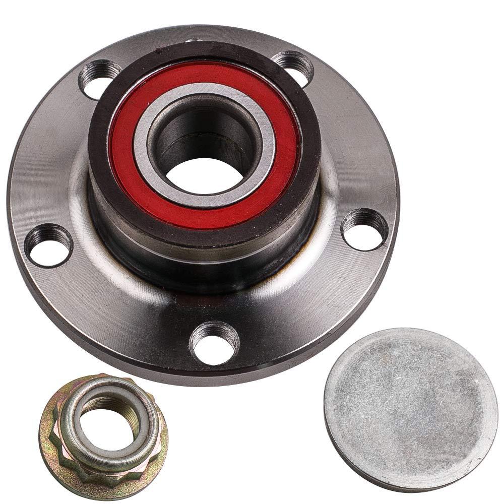 Amazon.com: maXpeedingrods Rear Wheel Bearing + HUB Assembly VKBA35671 for Audi A2 Seat Ibiza VW Fox Polo: Automotive