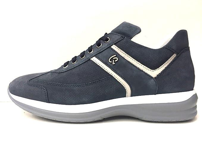 Scarpe Uomo Sneakers Casual Cesare Paciotti Originale Ea1op Pelle Pe 5A34RjL