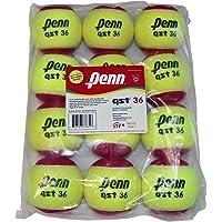 Penn QST 36 Tennis Balls - Youth Felt Red Tennis Balls for Beginners