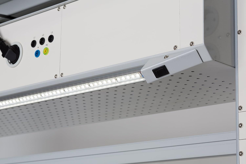 Profi – Espacio de trabajo LED Lámpara St (estándar) – nachrüstsatz – No Regulable – claras plexiglasabdeckung para máximo brillo, 1100mm (6.000lm), 10: Amazon.es: Industria, empresas y ciencia