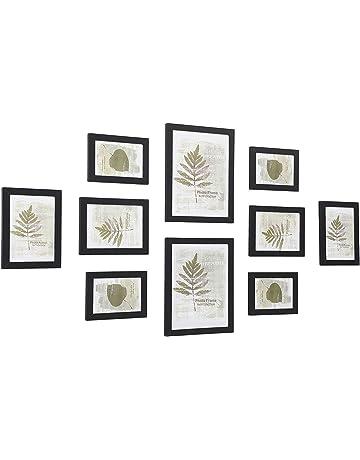 Cadre photo cadre photo chêne noir effet bois cadres poster cadre moderne nouveau