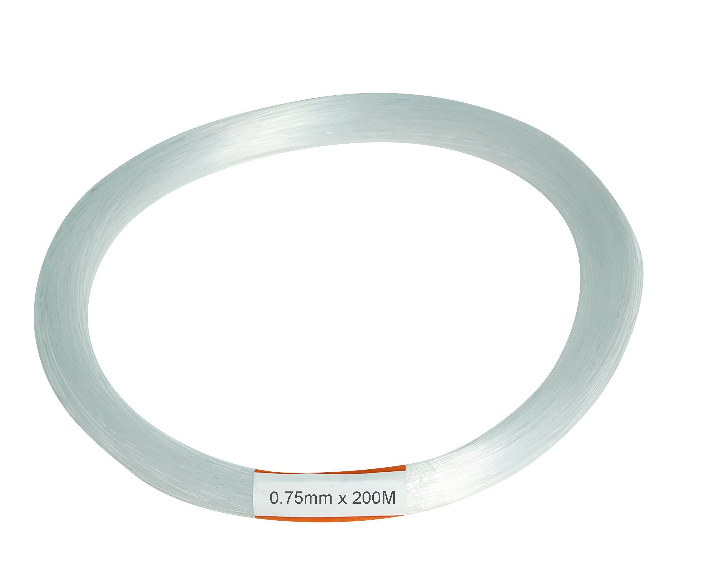 Fiber optic cable,PMMA plastic end glow cables for star sky ceiling led light kit 0.03in(0.75mm) 656ft(200M)/roll