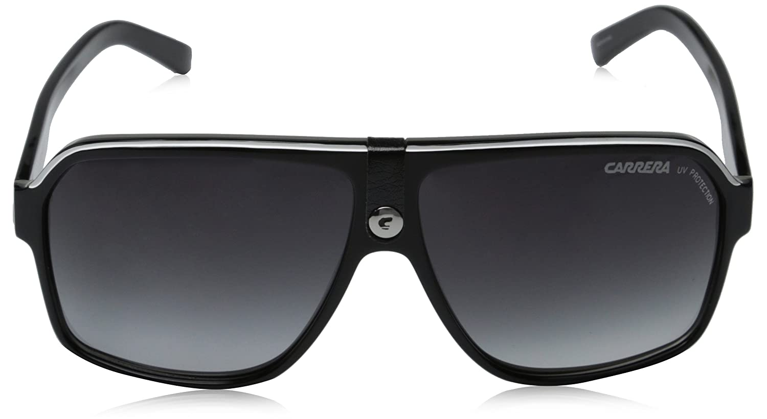 9bcb4f0d4302 Carrera Ca33S Aviator Sunglasses, Black Crystal Grey Frame, Dark Grey  Gradient Lens, One Size: Carrera: Amazon.ca: Clothing & Accessories