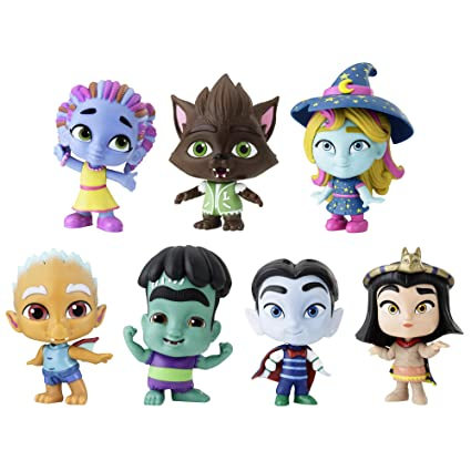 Netflix Super Monsters Figures Monsters Up Collection 7 Pack Toys Ages 3 And Up