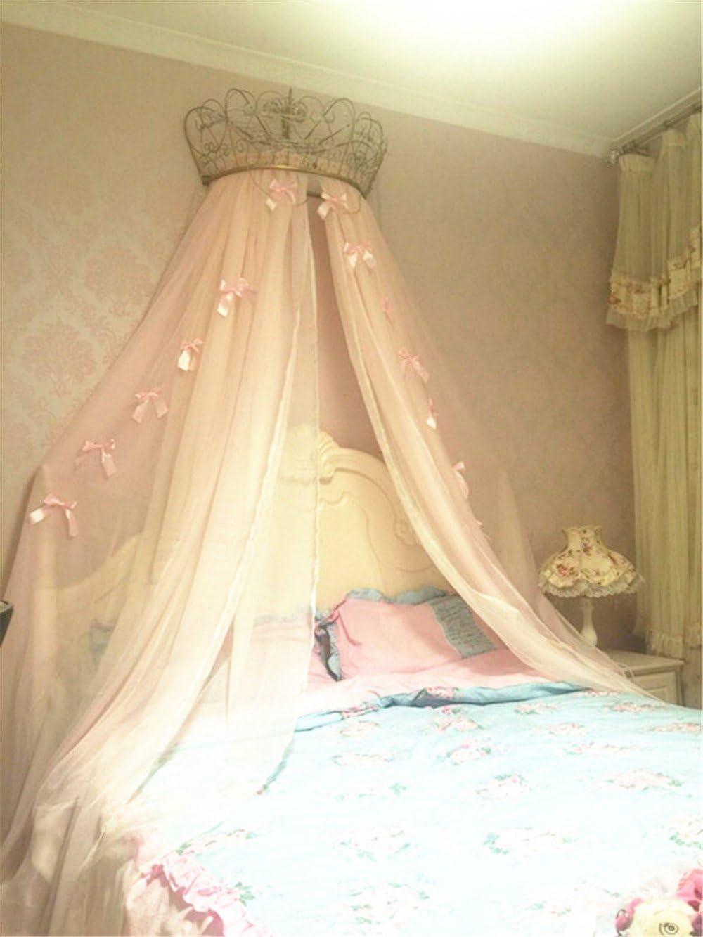 - Amazon.com: Lotus Karen Princess Bed Canopy Chiffon Girls Bed