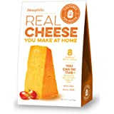 Cultures For Health Cheese Making Starter Culture | Versatile Mesophilic Cheese Culture That Can Make Many Types Of Cheese | Non GMO, Gluten Free | 8 Sachets In A Box