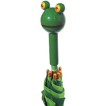Vilac 4395 - Paraguas infantil, diseño de rana: Vilac - 4395 - Plein Air - Parapluie Yabon la grenouille: Amazon.es: Juguetes y juegos