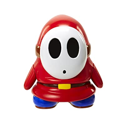 "World of Nintendo 91438 4"" Shy Guy with Coin Action Figure: Toys & Games"