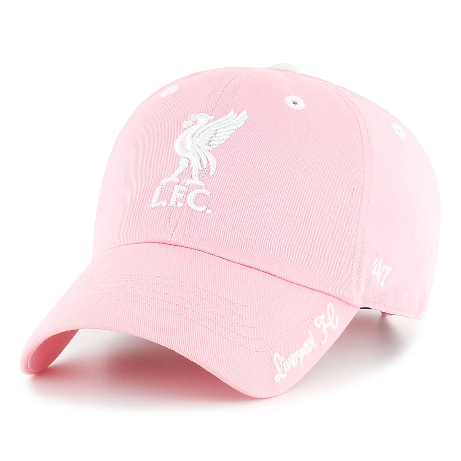 8c9a0e0d432  47 Autumn-Winter 2017 Kids Girls Pink Clean Up Cap Liverpool FC LFC  Official Store  Amazon.co.uk  Clothing