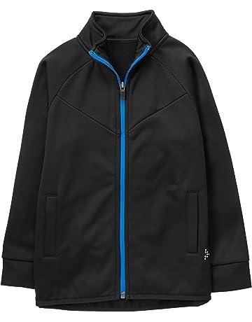 0d310661373 Gymboree Boys' Little Black Zip Up Track Jacket