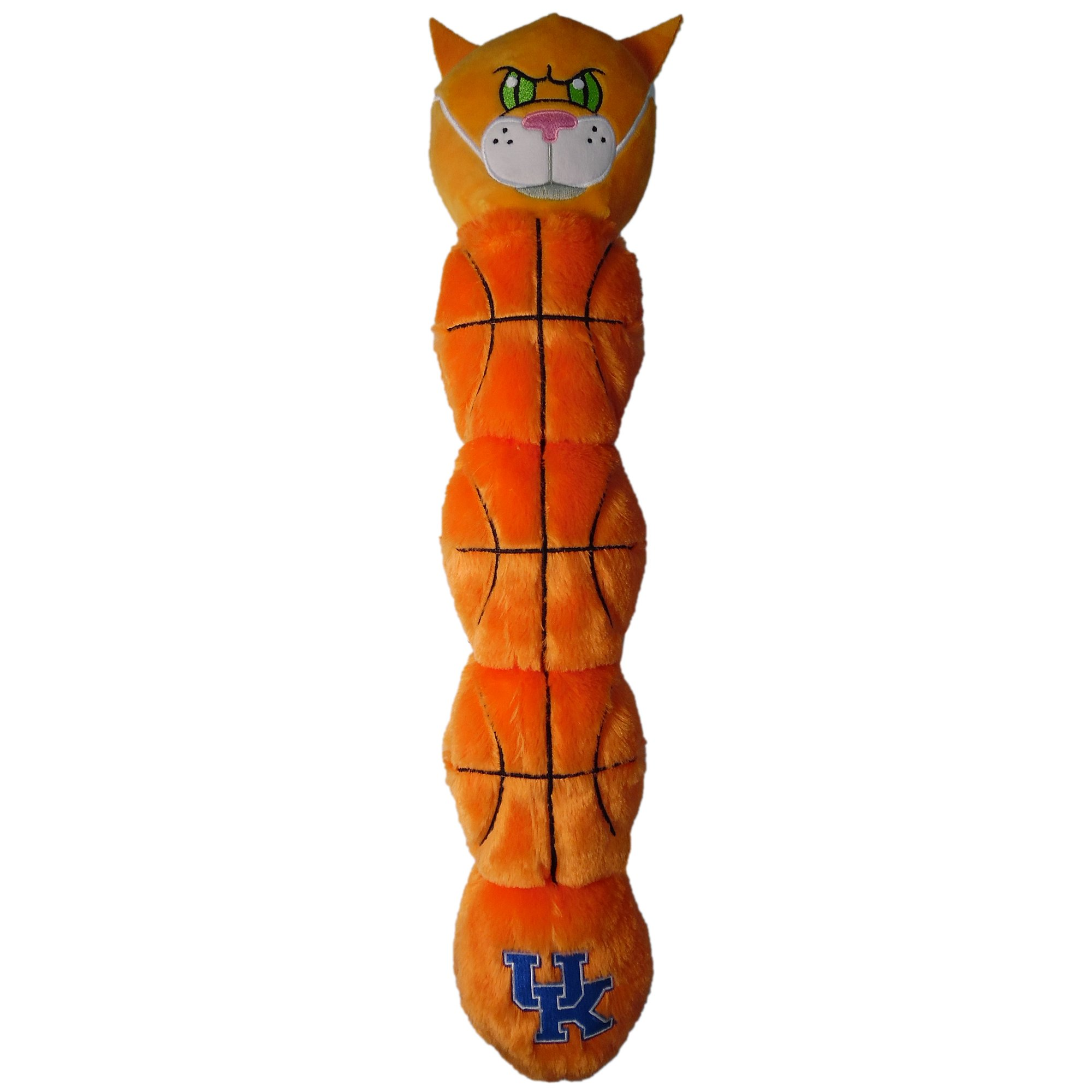 NCAA Kentucky Wildcats - Wildcat Mascot Toy Pets. Plush Dog Toy 5 Inner SQUEAKERS. 21'' Long Dog Toy