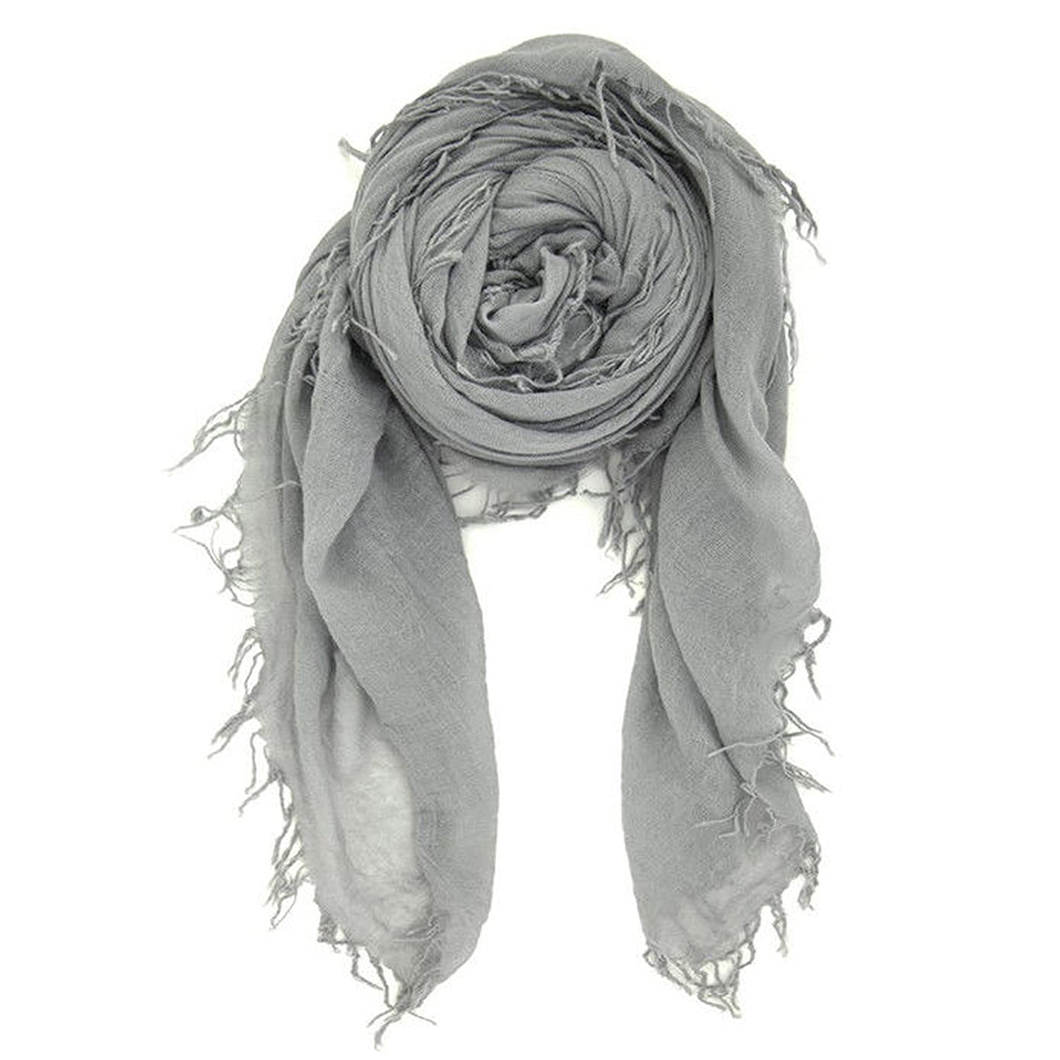 Chan Luu Women's Combo Cashmere Silk Scarf in Griffin