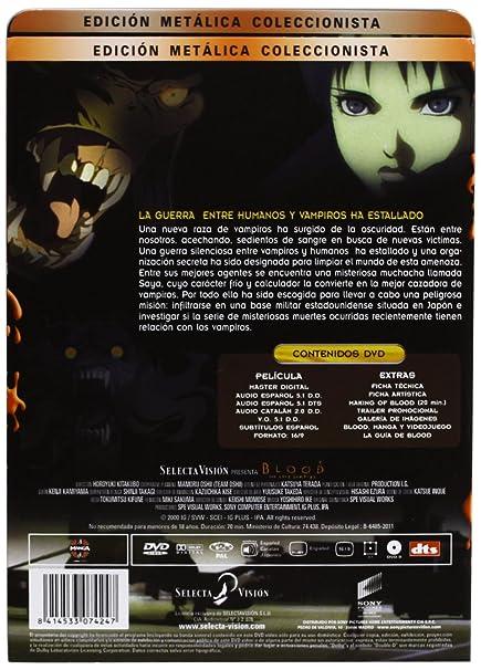 Amazon.com: Blood: The Last Vampire (Edición Metálica ...