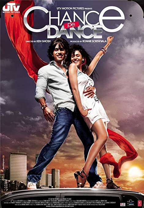 India Movie Chance Pe Dance pelicula metal poster cartel ...