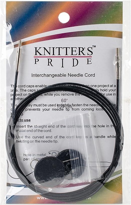 "150 cm Knitter/'s Pride :Interchangeable Needle Cord: 60/"""
