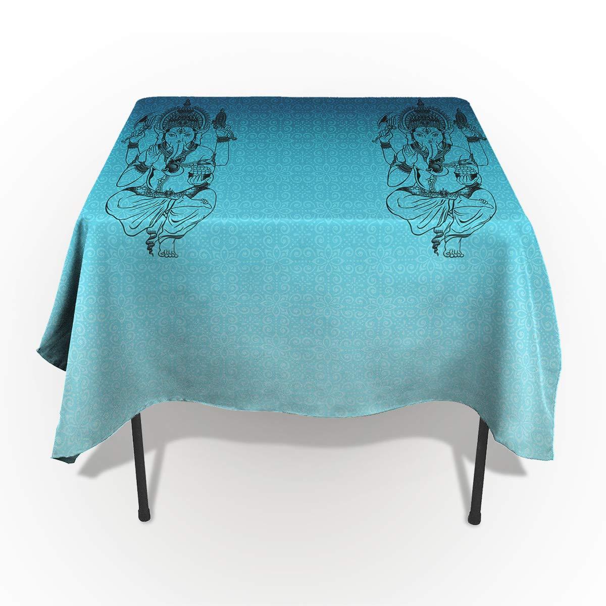 コットンリネンテーブルクロス トロピカルフラワープラント 洗濯可能な生地 長方形テーブルカバー ディナー/キッチン/ウェディングパーティー/テーブル装飾用 60x90in CXL190122-SLXM00487ZBAJITH 60x90in カラー-8 B07N62PXXQ