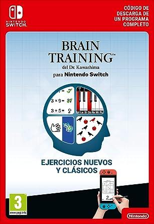 Brain Training del Dr. Kawashima para Standard | Nintendo Switch ...