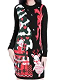 Amazon Price History for:Christmas Sweater, V28 Women Ugly Vintage White Red Merry Xmas Sweater Dress