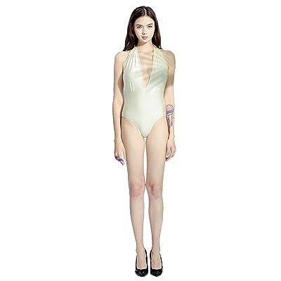 Jonathan Swim Fashion Women's Vintage and Shiny One Piece Bikini Padding Monokini Beach Swimsuit