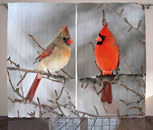 Lunarable Bird Curtains