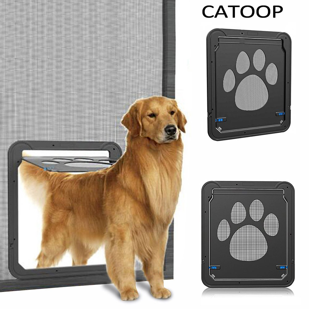 Dog Screen Door Pet Cat Screen Door Protector For Sliding Door