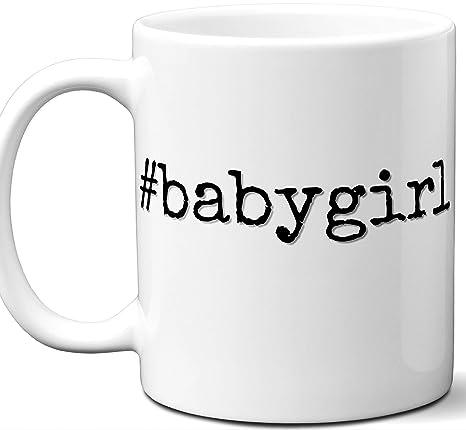 Amazon.com: Taza de Hashtag para bebé. Copa de té para ...