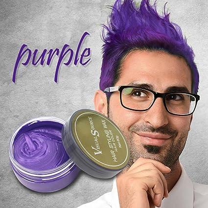 Cera de color de cabello QHJ color mate, tinte de cenizas ...