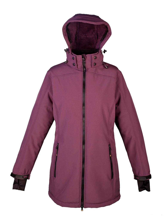 Violet (Berry)  DEPROC-Active Keele Peak Manteau   Veste Softshell pour Femme