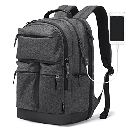Amazon.com   HJFBW Business Casual Men s Backpack Water Repellent ... 8d6eba0ef3f97