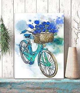 """XXL Wand Glas Bild Glasbild /""""Magnolienblüten/"""" von DEKOGLAS 125x50 aus Acrylglas"""